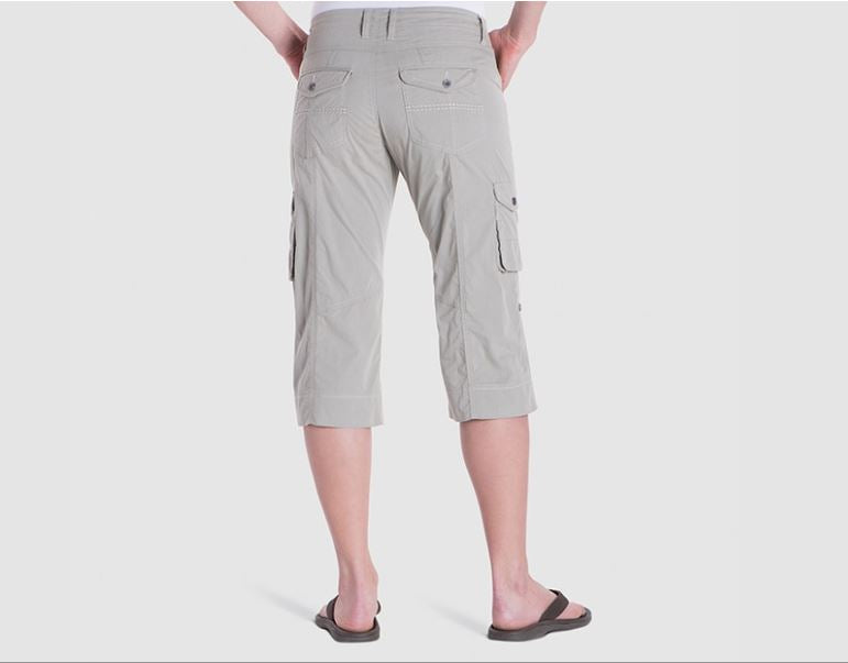 Kuhl Kontra Short 11 for Ladies in Khaki