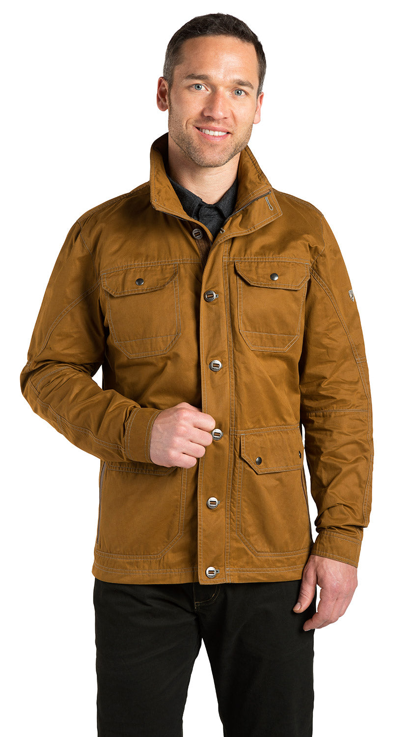 Kuhl Kollusion Jacket for Men in Teak