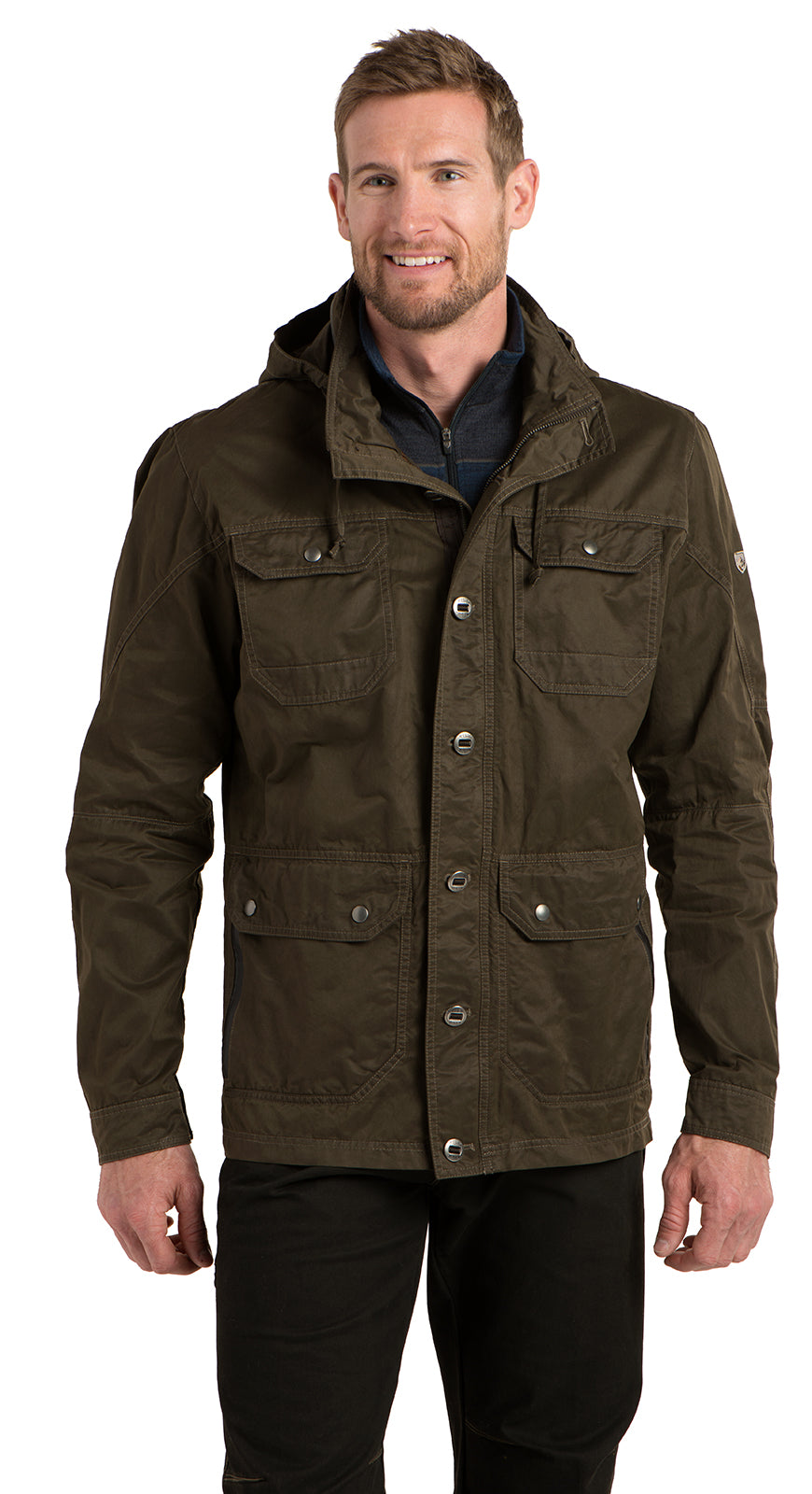 Kuhl Kollusion Jacket for Men in Turkish Coffee