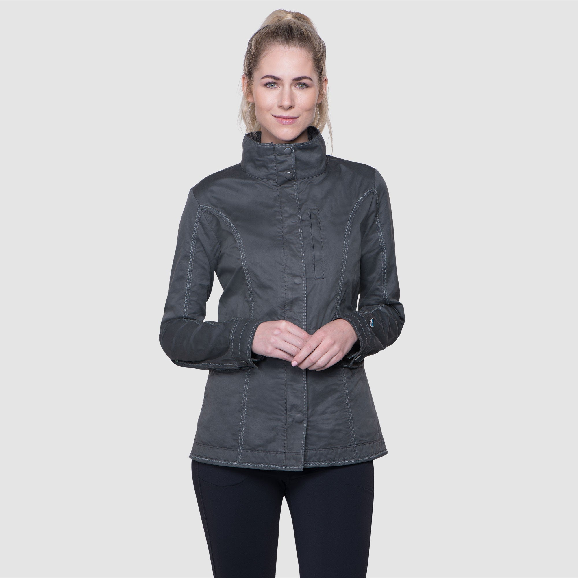 Kuhl Luna Jacket for Ladies in Carbon