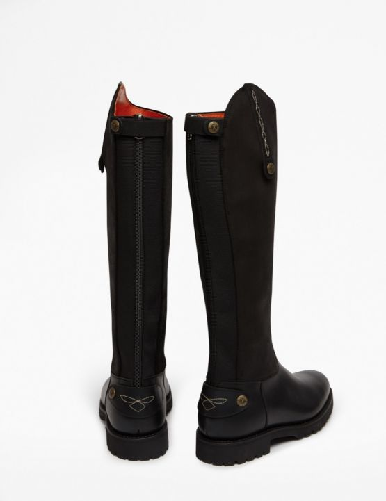 Penelope Chilvers Land Gaucho Boot for Ladies in Black