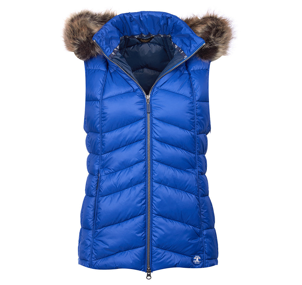 Barbour Bernera Quilted Gilet for Ladies in Seablue / Navy