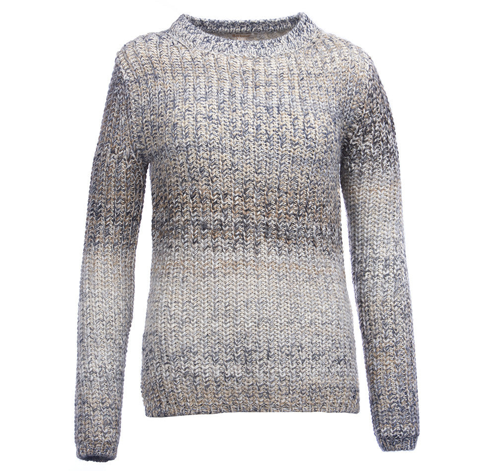 Barbour Seahouse Knit Sweater for Ladies in Mist Mix