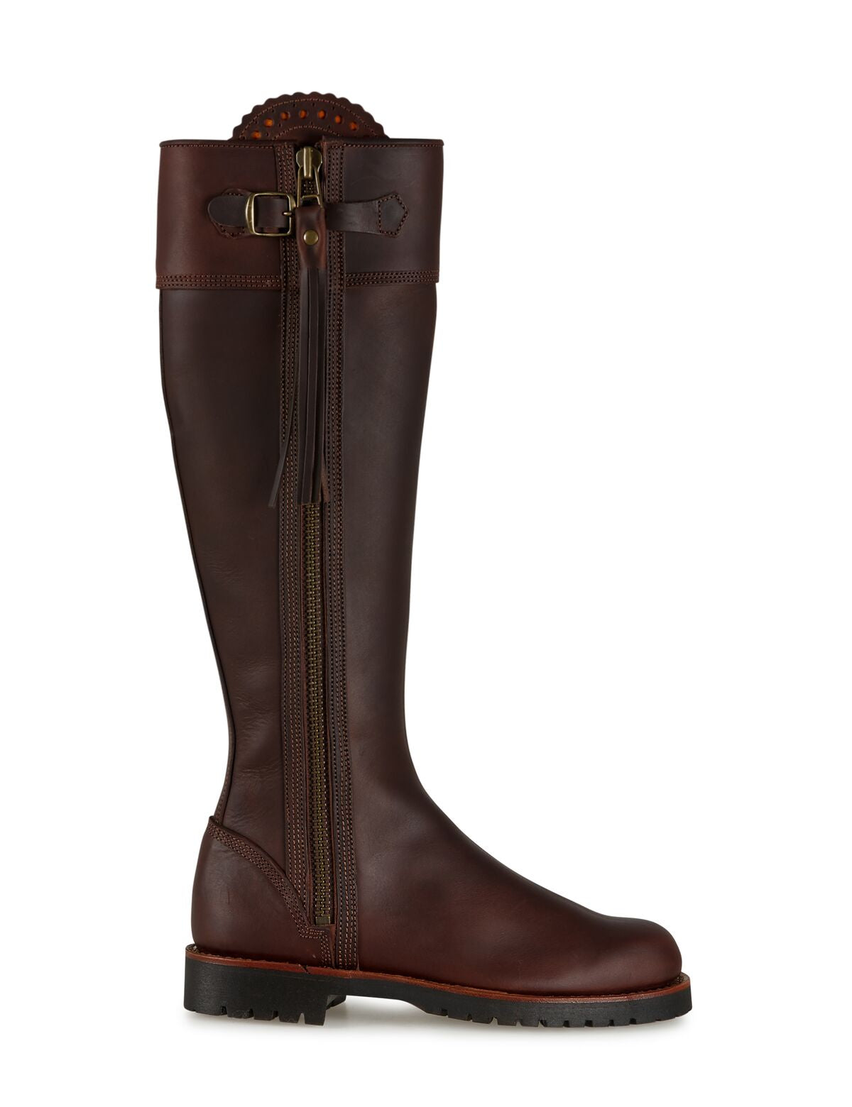 Penelope Chilvers Long Tassel Boot for Ladies in Conker