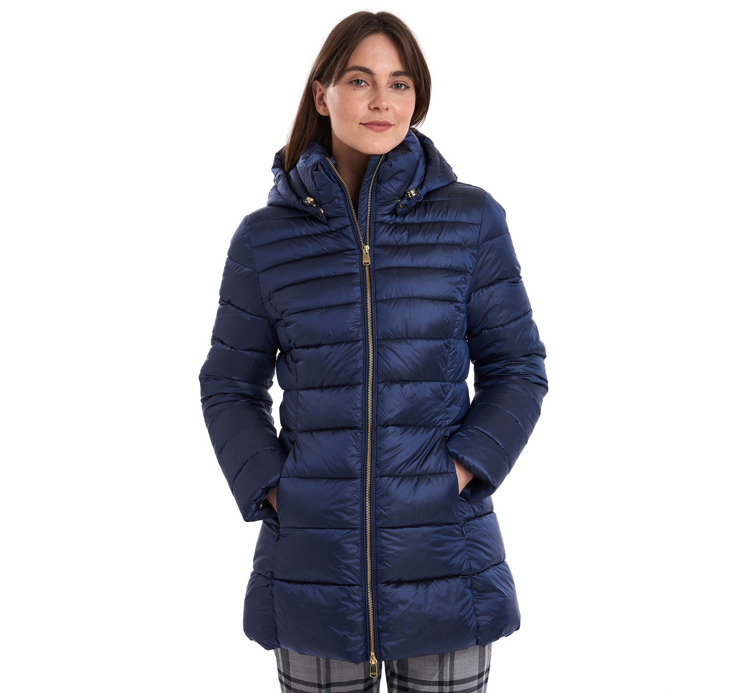 Barbour Blair Quilted Jacket for Ladies in Royal Navy