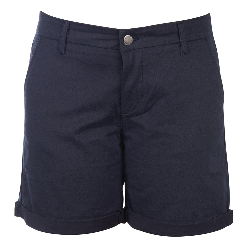 Barbour Essential Shorts for Ladies in Navy