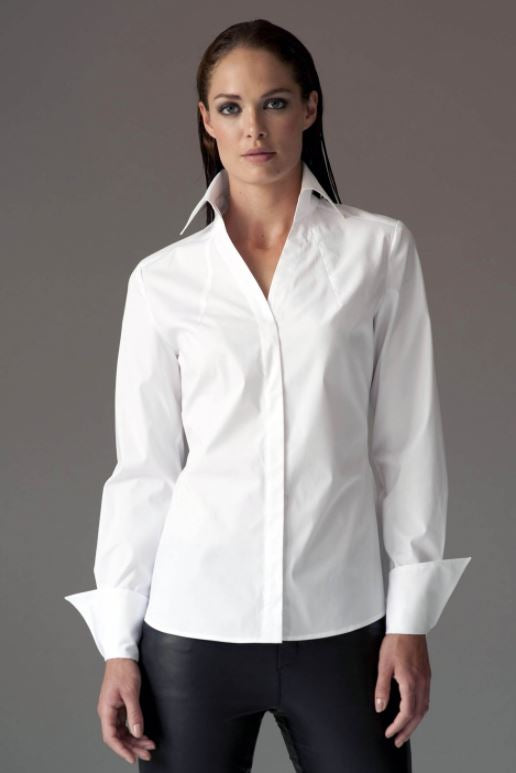 The Shirt Company Madelena Shirt for Ladies in White