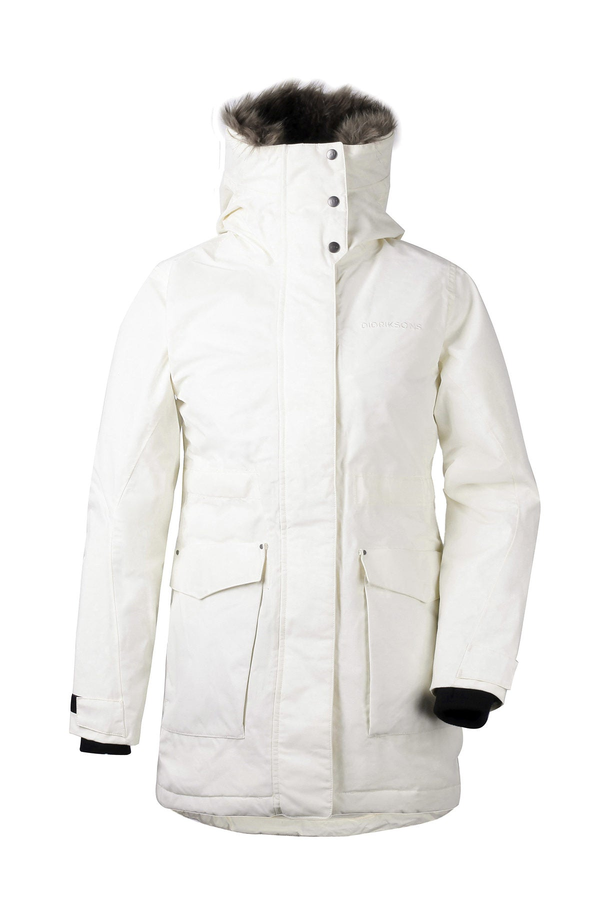 Didriksons Meja Parka II for Ladies in Organic White