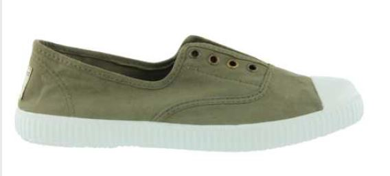 Victoria Dora Plimsoll for Ladies in Militar