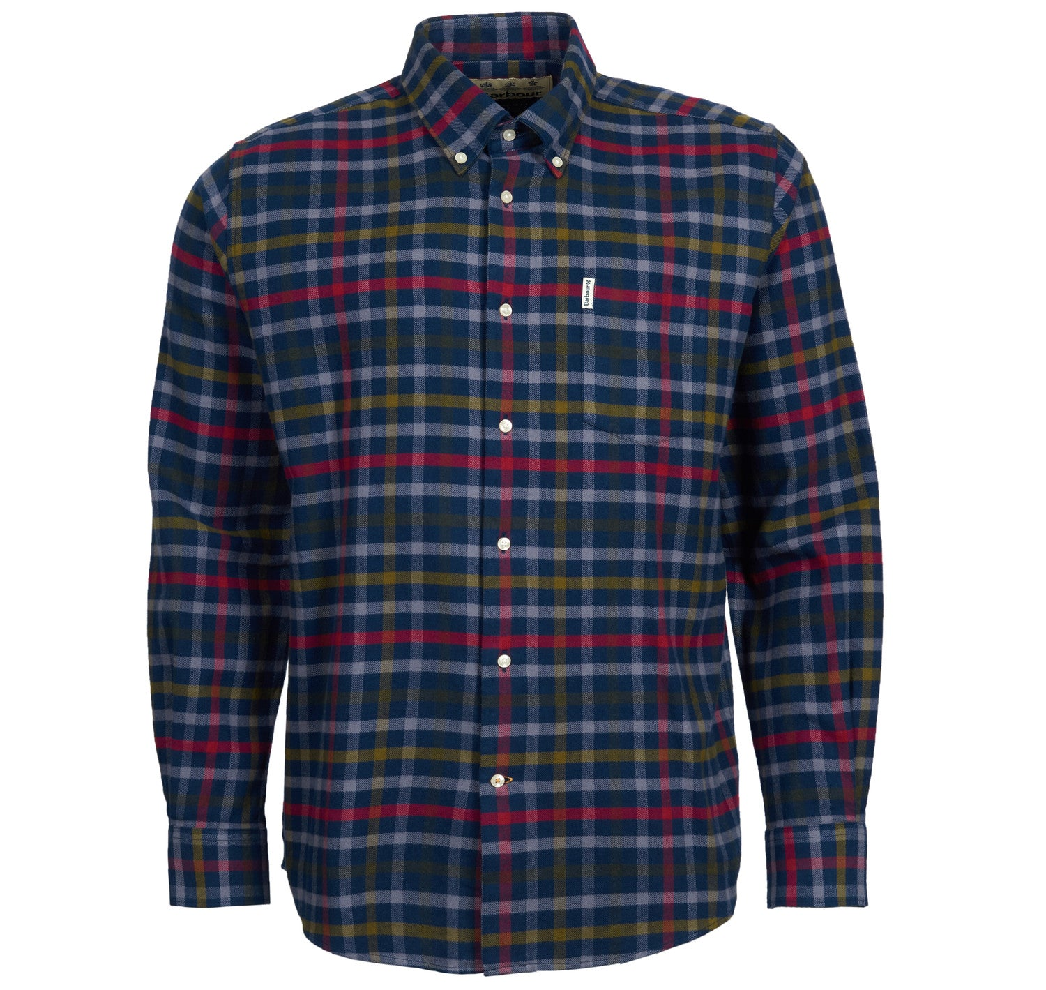 Barbour Hadlo Checked Shirt for Men in Navy