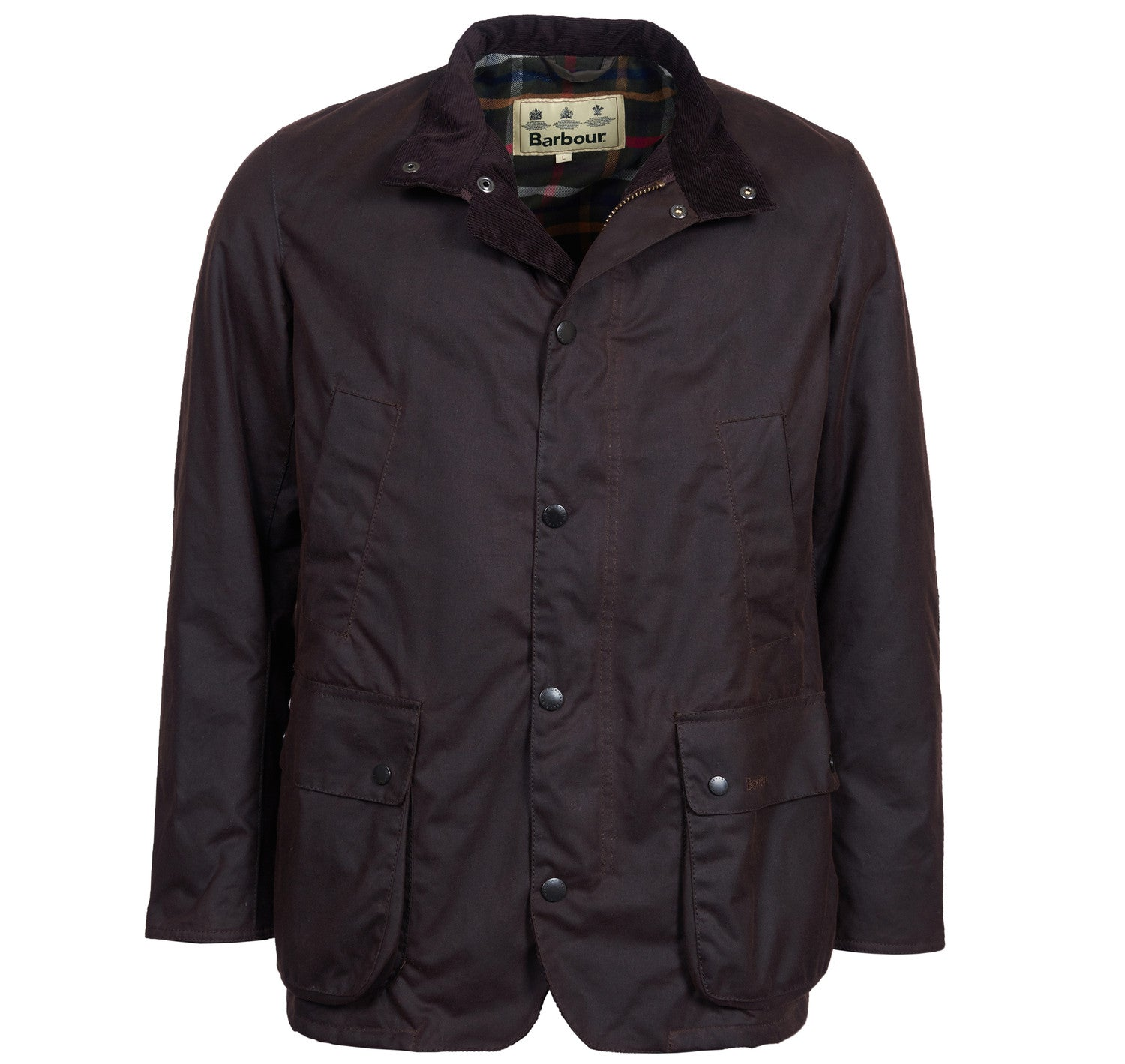 Barbour Brandreth Wax Jacket for Men in Rustic
