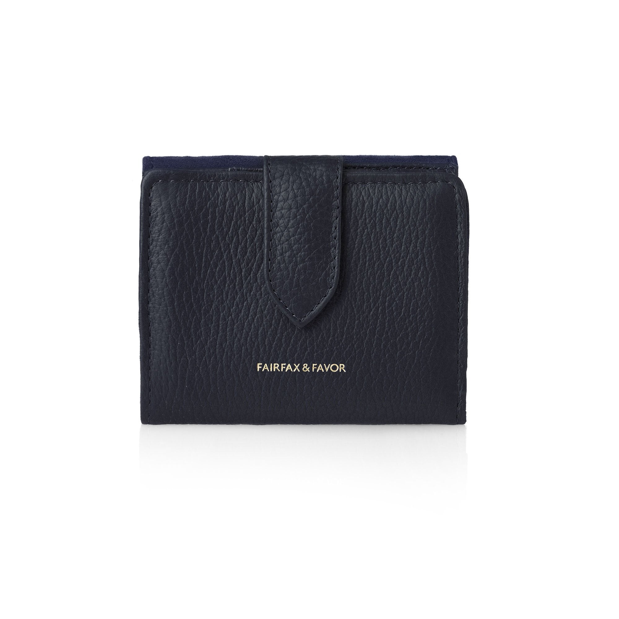 Fairfax  and  Favor Canterbury Purse for Ladies in Navy