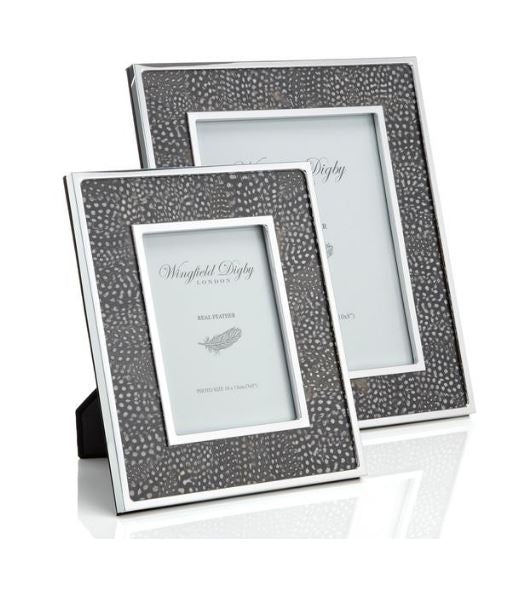 Wingfield Digby 7x5 Guinea Fowl Feather Photo Frame