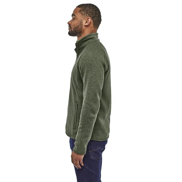 Patagonia Better Sweater Jacket for Men in Industrial Green