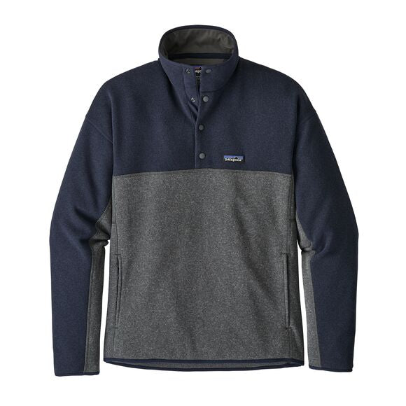 Patagonia Better Sweater Marsupial Fleece for Men in Grey Blue