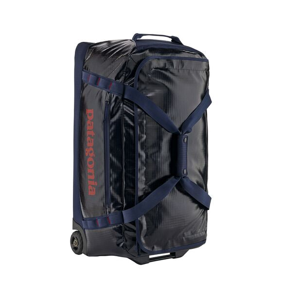Patagonia Black Hole Wheeled Duffel Bag 70L in Navy