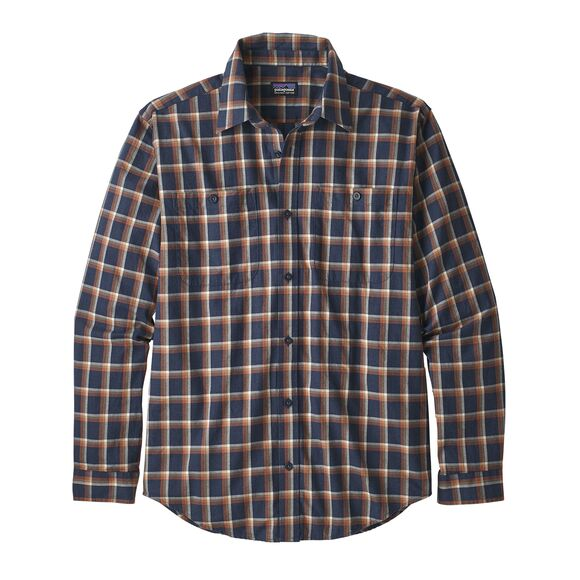 Patagonia Pima Cotton Shirt for Men in Neo Navy