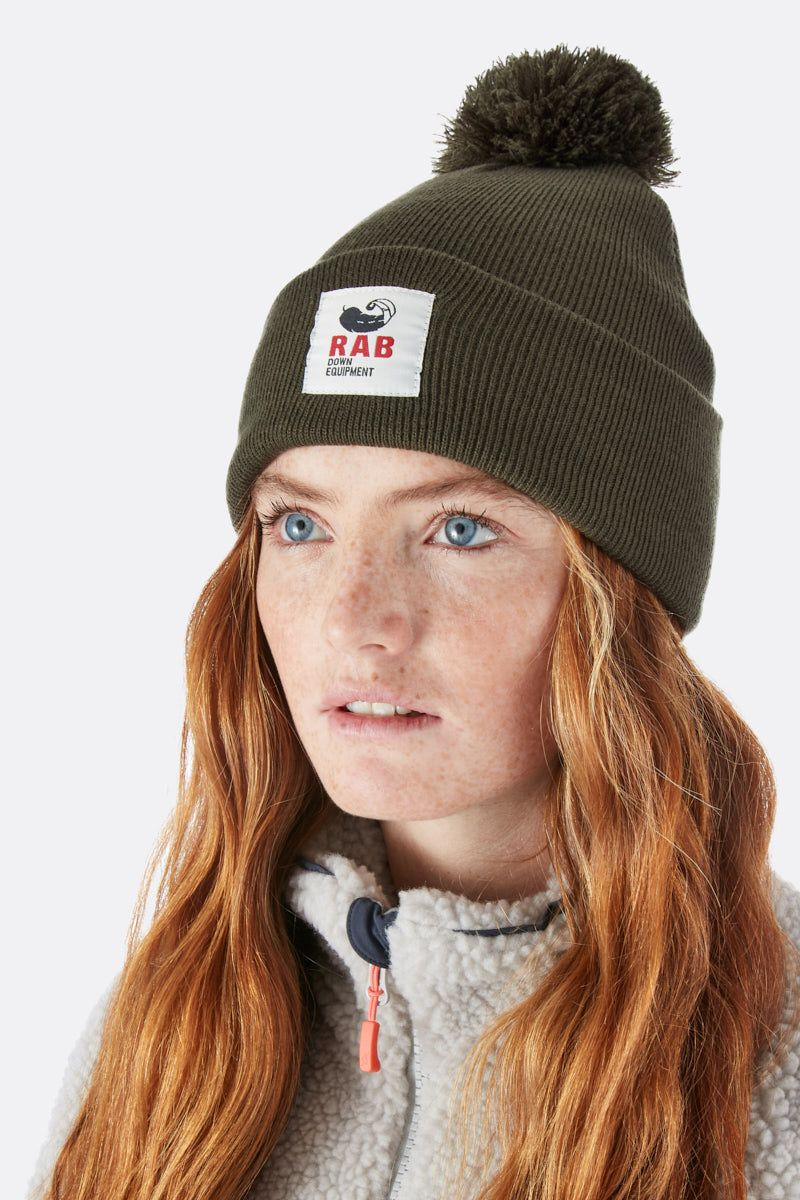 Rab Essential Bobble Hat for Ladies in Army