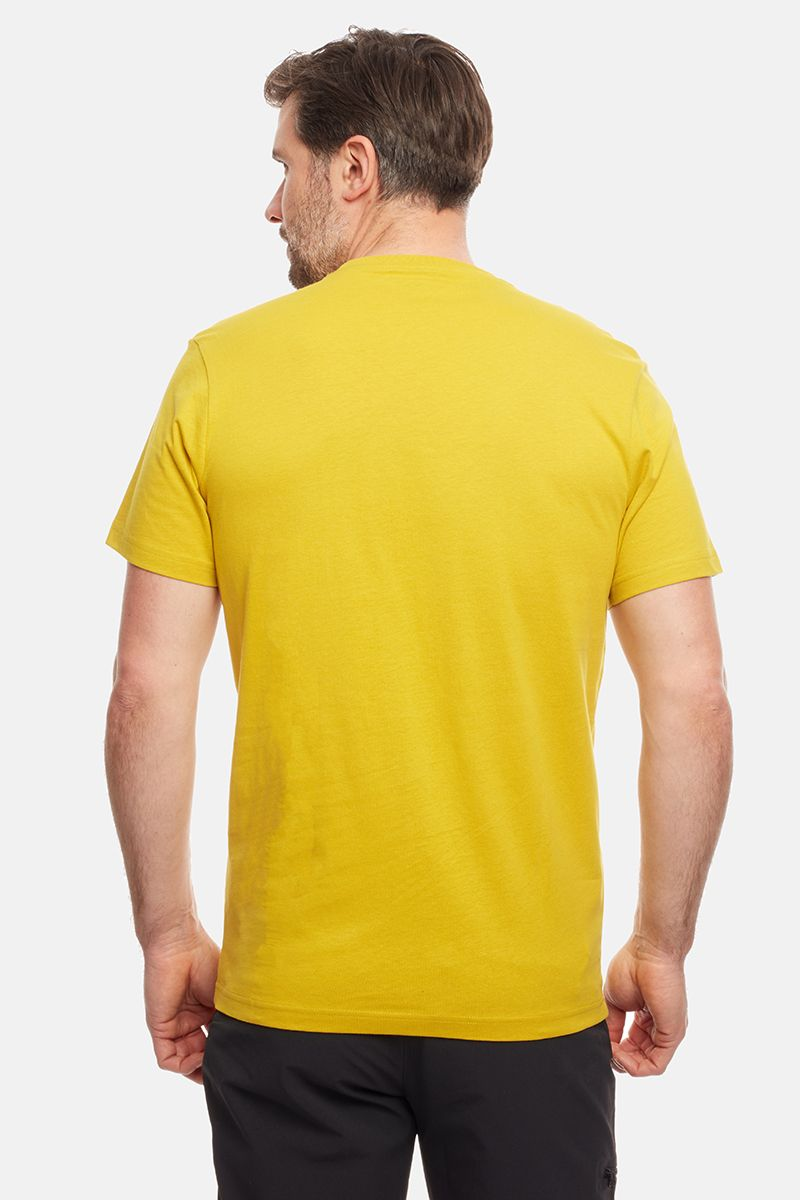 Rab Stance Sketch Tee for Men in Sulphur