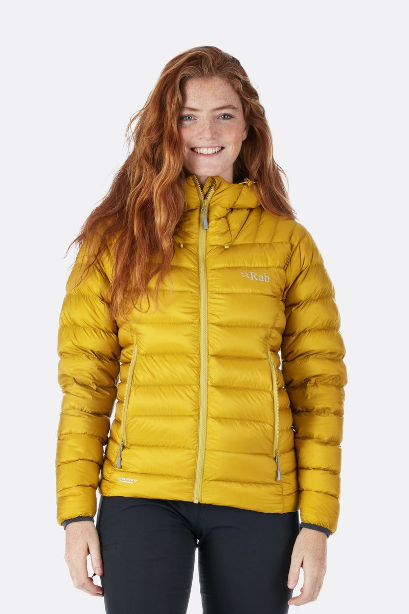 Rab Electron Quilted Jacket for Ladies in Dark Sulphur