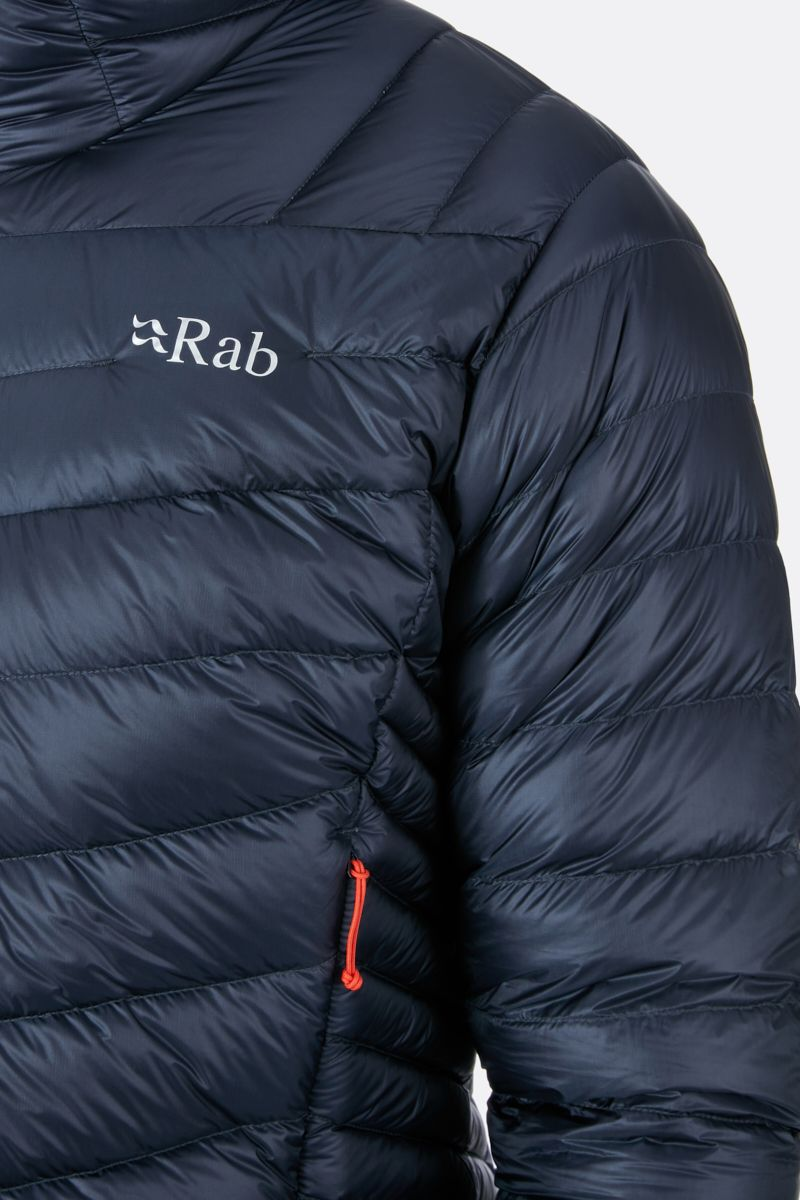 Rab Proton Quilted Jacket for Men in Ebony