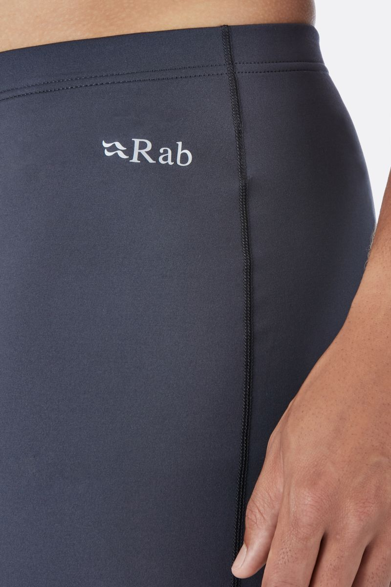 Rab Flux Baselayer Pants for Men in Beluga