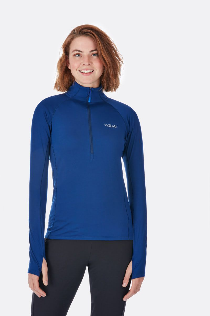 Rab Flux Pull On for Ladies in Blue Print