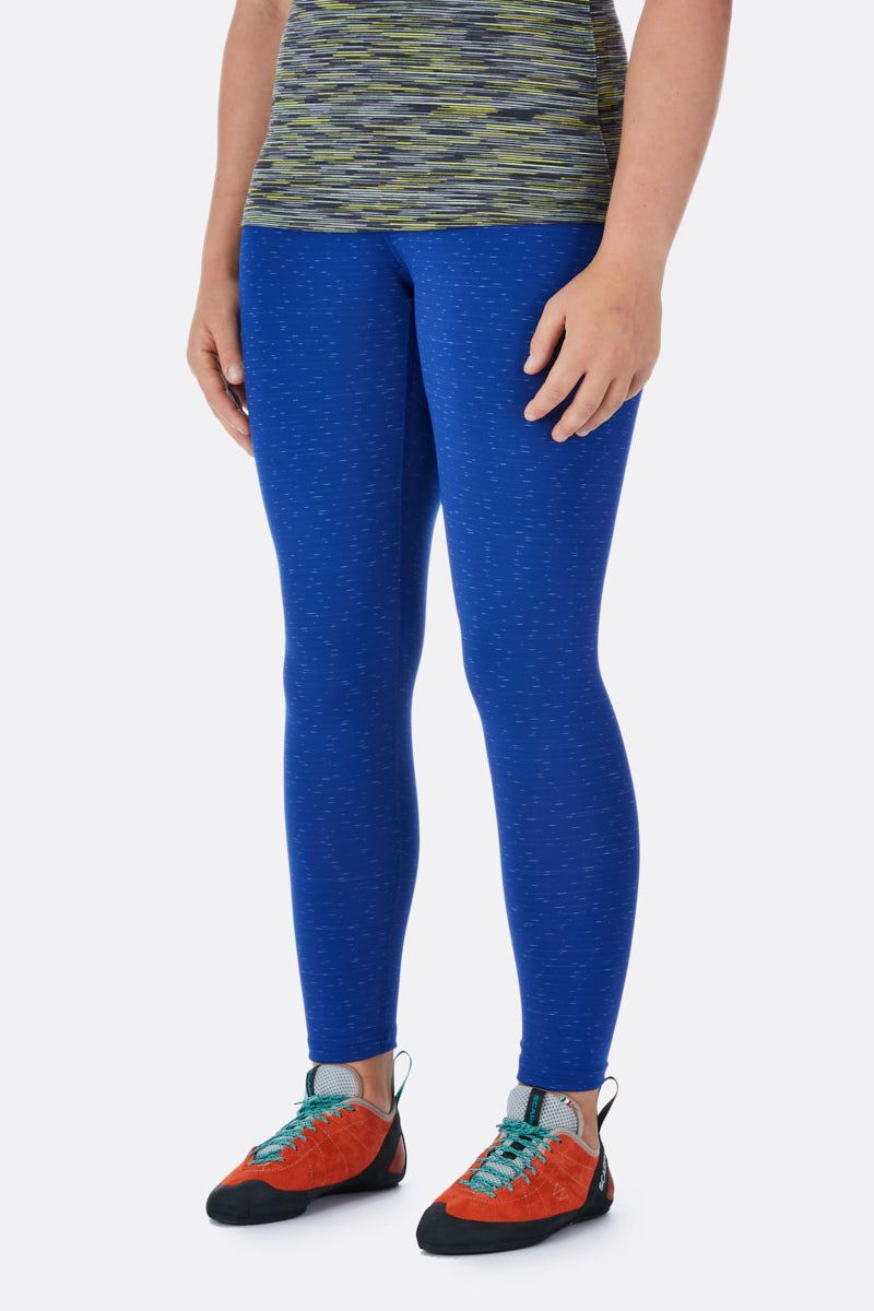 Rab Flex Leggings for Ladies in Blue Print
