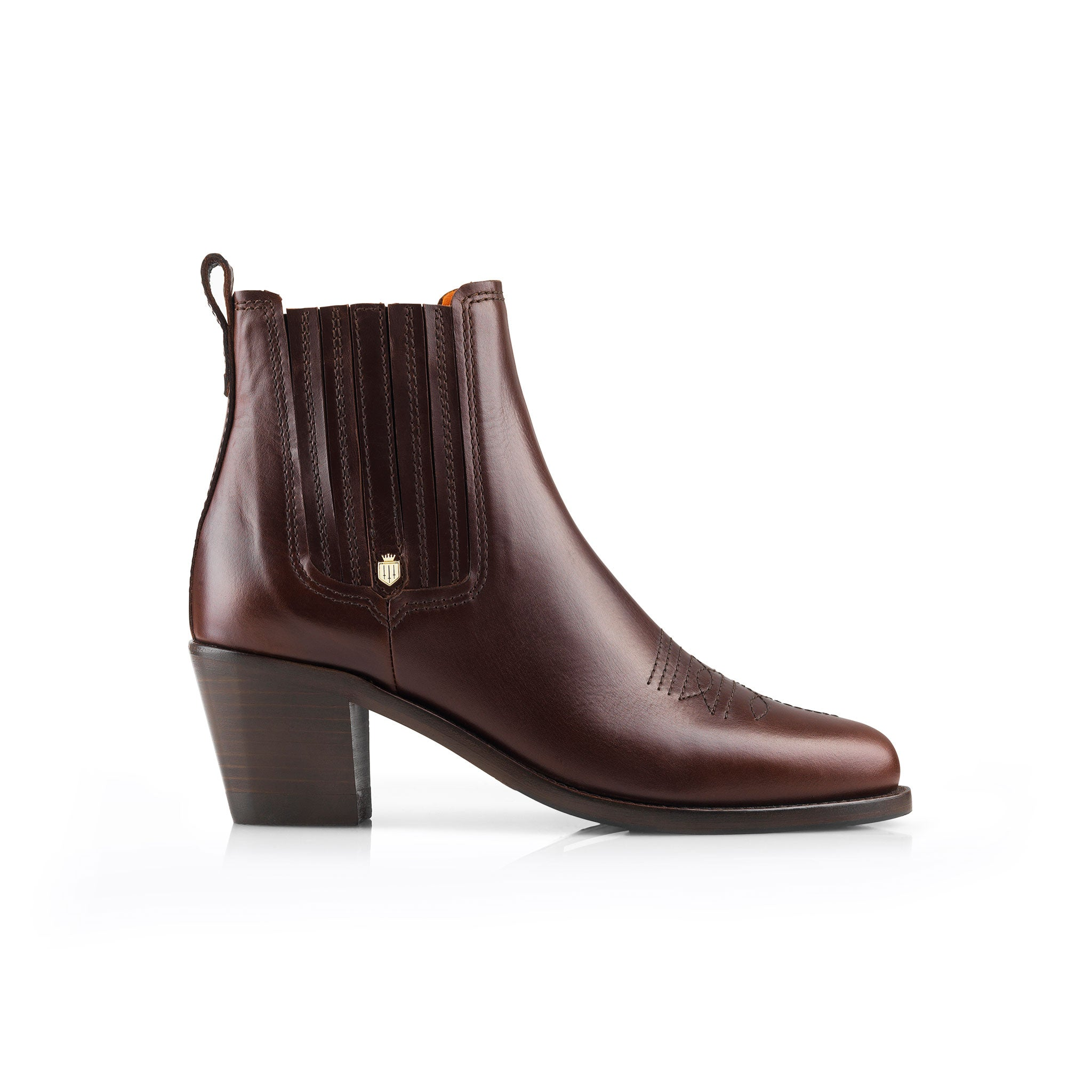 Fairfax and Favor Rockingham Ankle Boot for Ladies in Mahogany