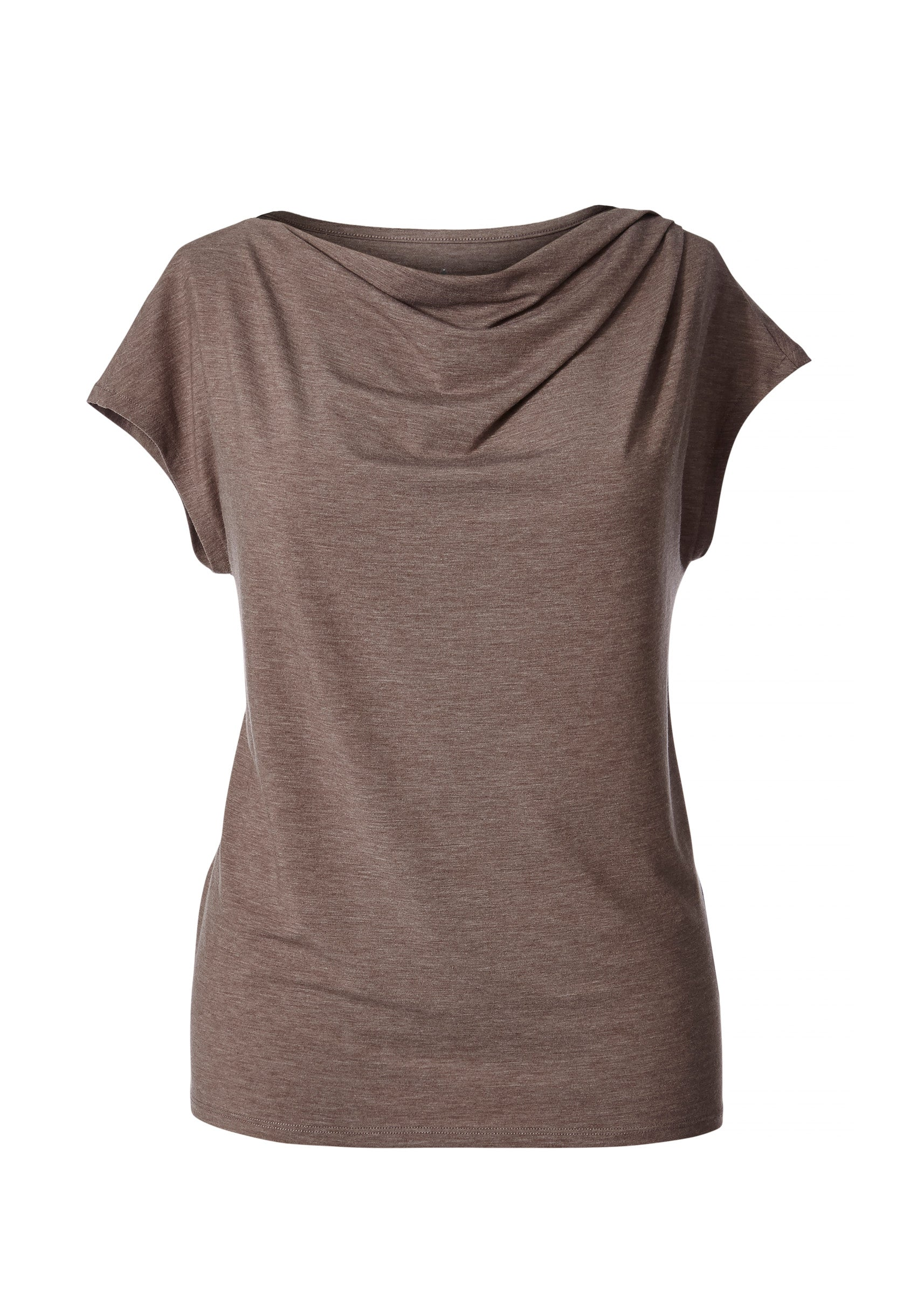 Royal Robbins Essential Tencel Cowl Top for Ladies in Falcon Heather