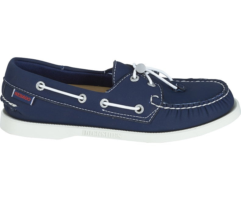 Sebago Docksides Ariaprene Shoes for Ladies in Navy