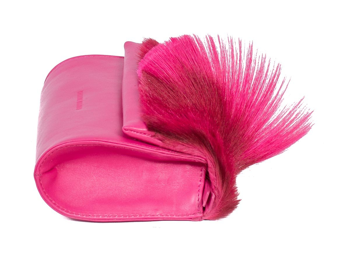 Sherene Melinda Mini Fan Bag for Ladies in Fushia