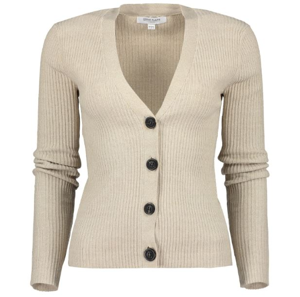 Great Plains Siena Knit Cardigan for Ladies in Sand Multi