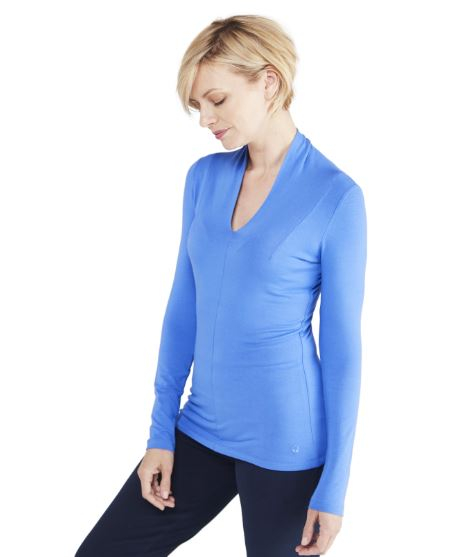 M Life Solstice Top for Ladies in Peacock