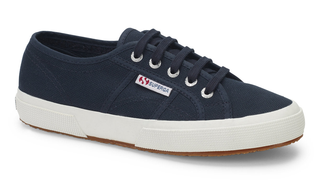 Superga Cotu Classic Trainer for Ladies in Navy White
