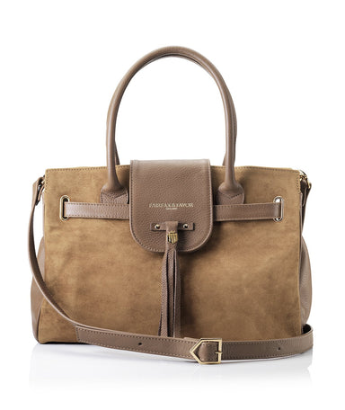 Fairfax and Favor Windsor Bag in Tan