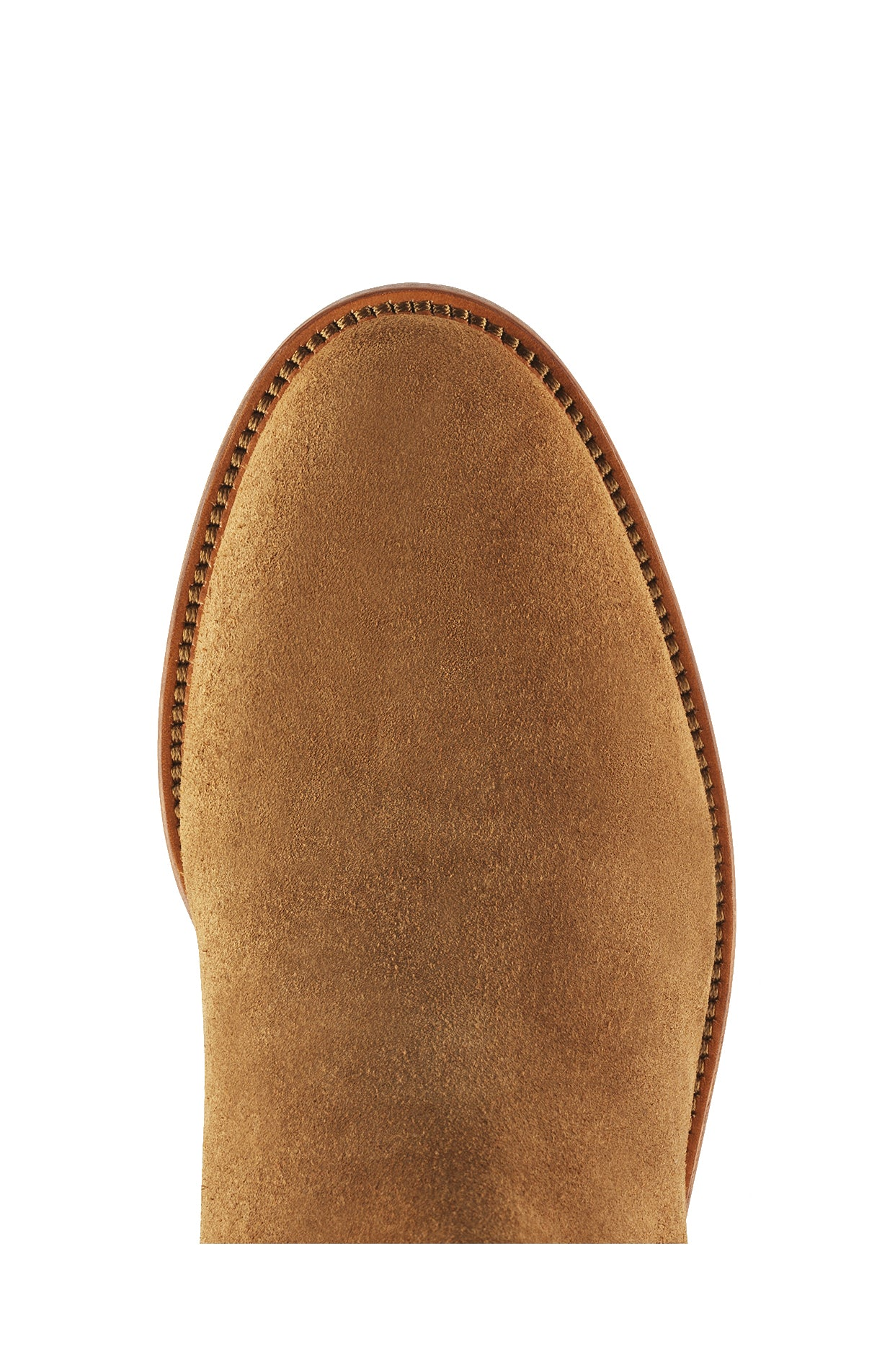 Fairfax and Favor Regina Flat Boots for Ladies in Tan Suede