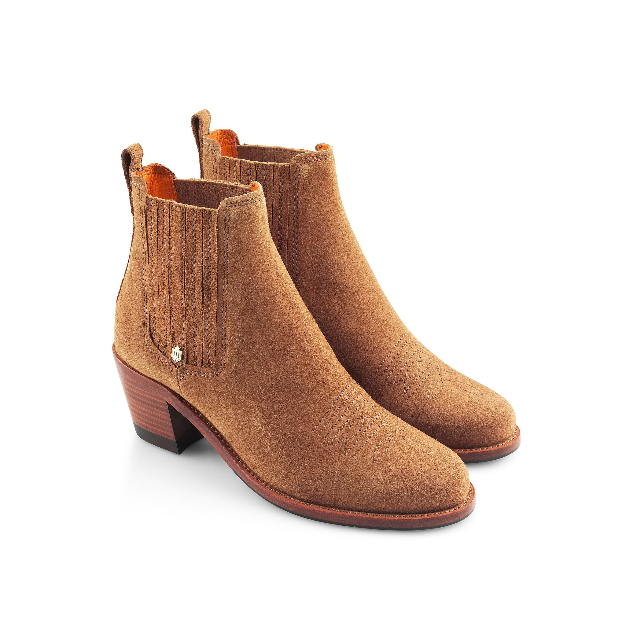 Fairfax and Favor Rockingham Ankle Boots for Ladies in Tan