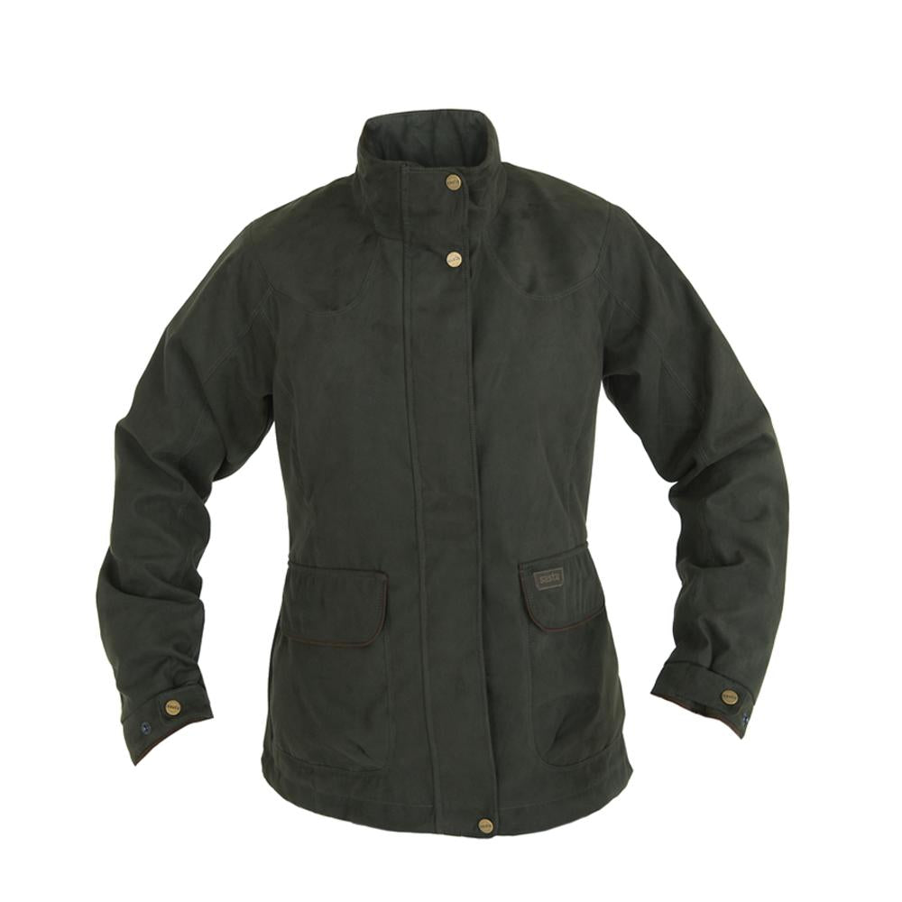 Sasta Vellamo Waterproof Jacket for Ladies in Dark Forest