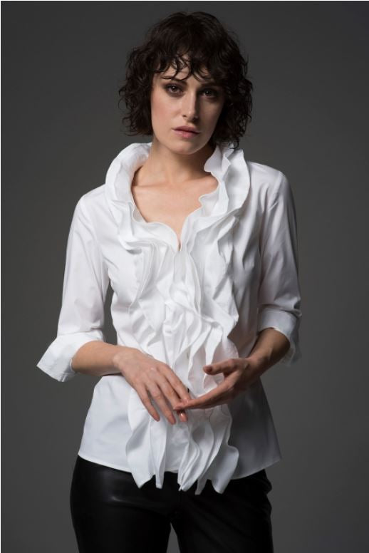 The Shirt Company Venice Shirt for Ladies in White