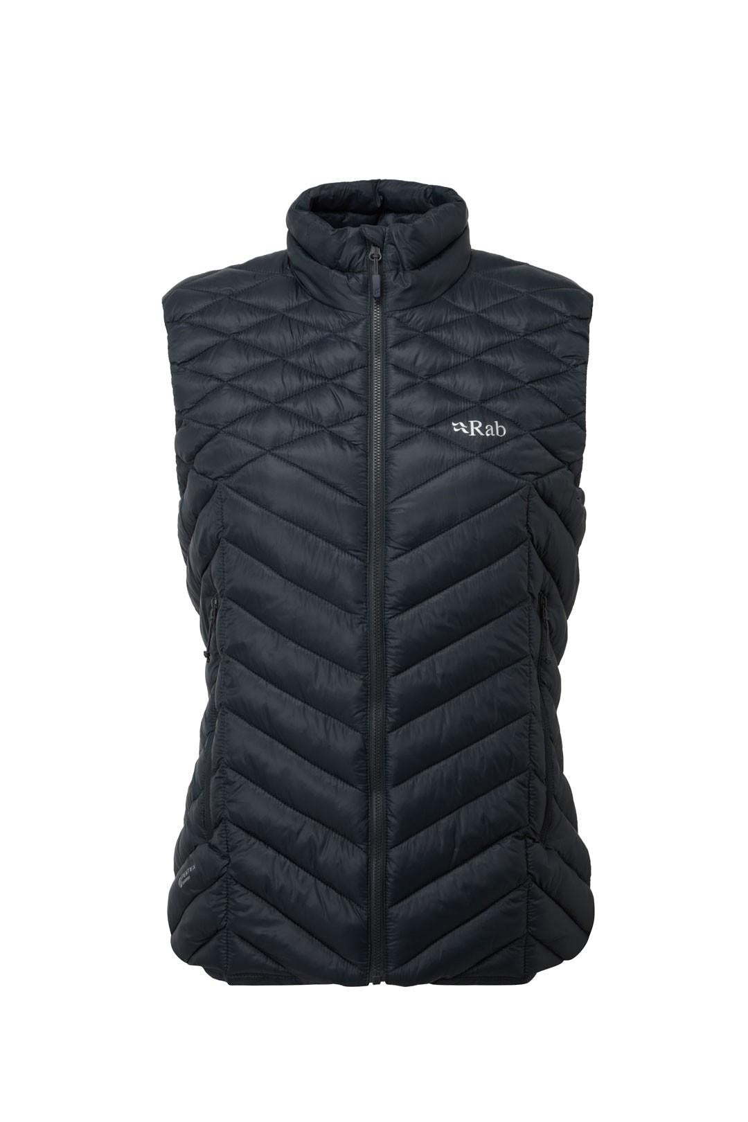 Rab Altus Down Vest for Ladies in Beluga