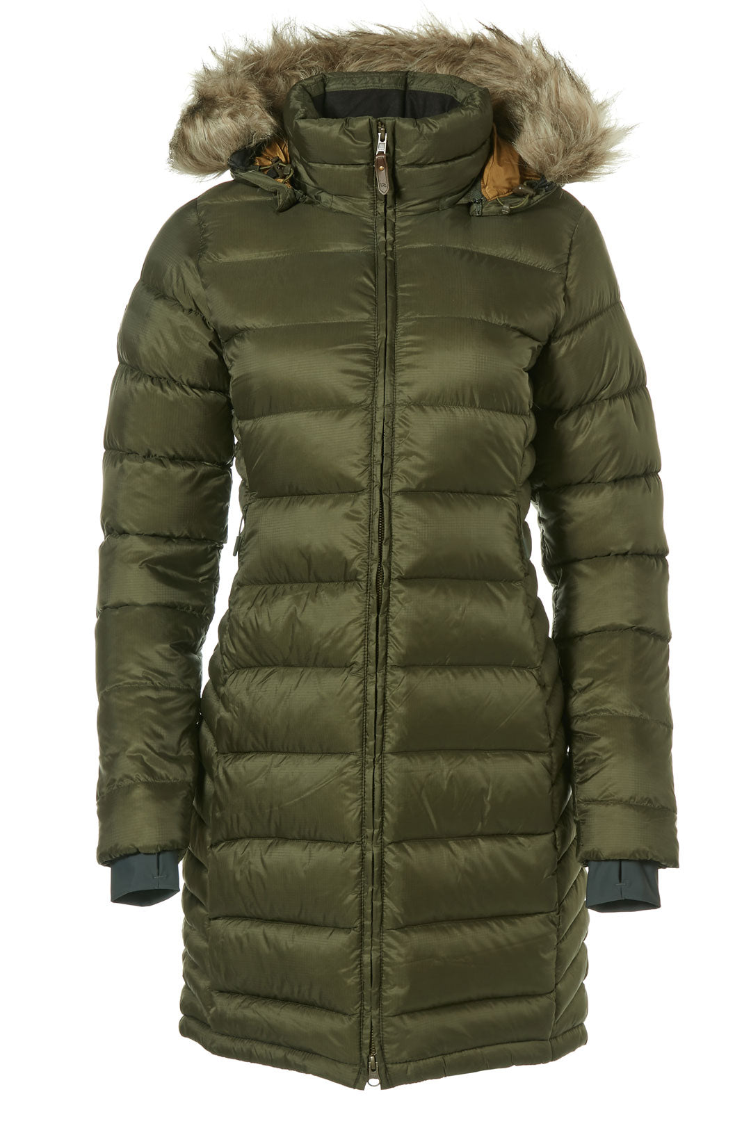 Rab Deep Cover Parka Jacket for Ladies in Army