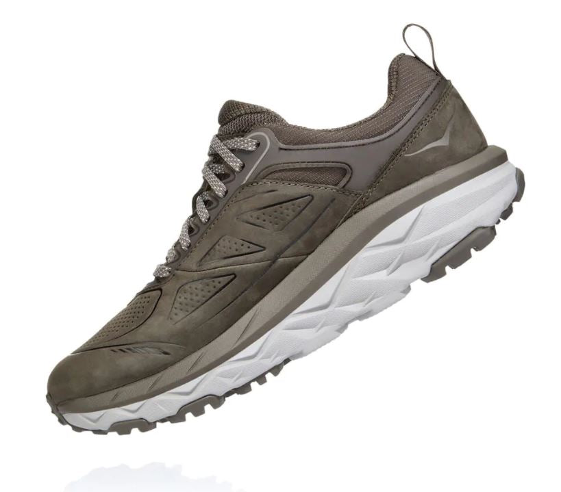 Hoka One One Challenger Low Gore-Tex Shoe for Ladies in Major Brown Heather