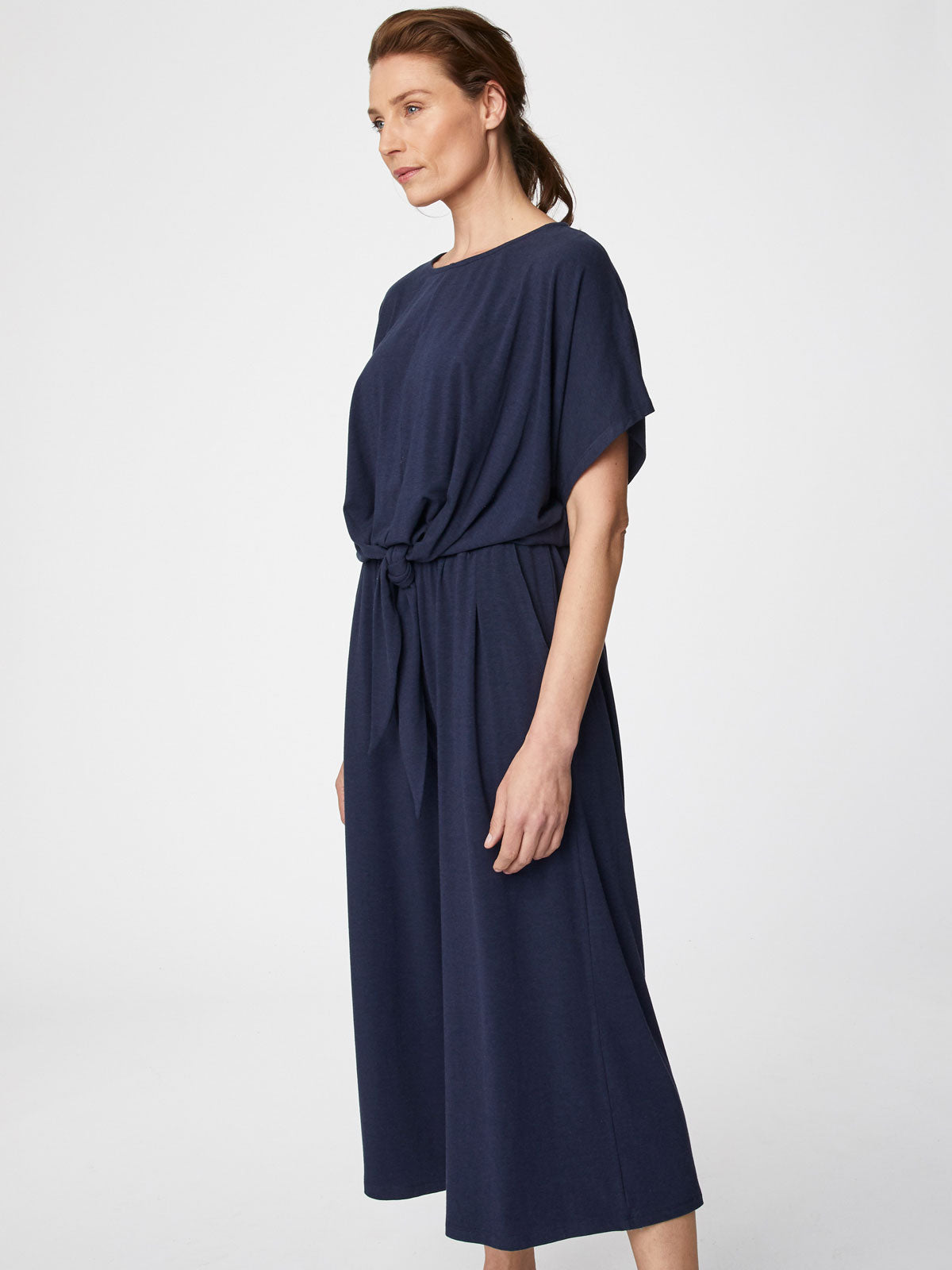 Thought Elizabeth Jumpsuit for Ladies in Dark Navy