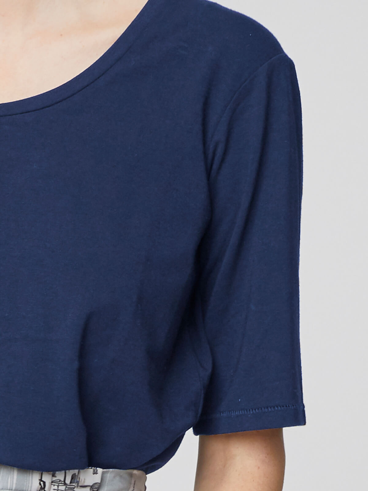Thought Bamboo Tee for Ladies in Ocean Blue