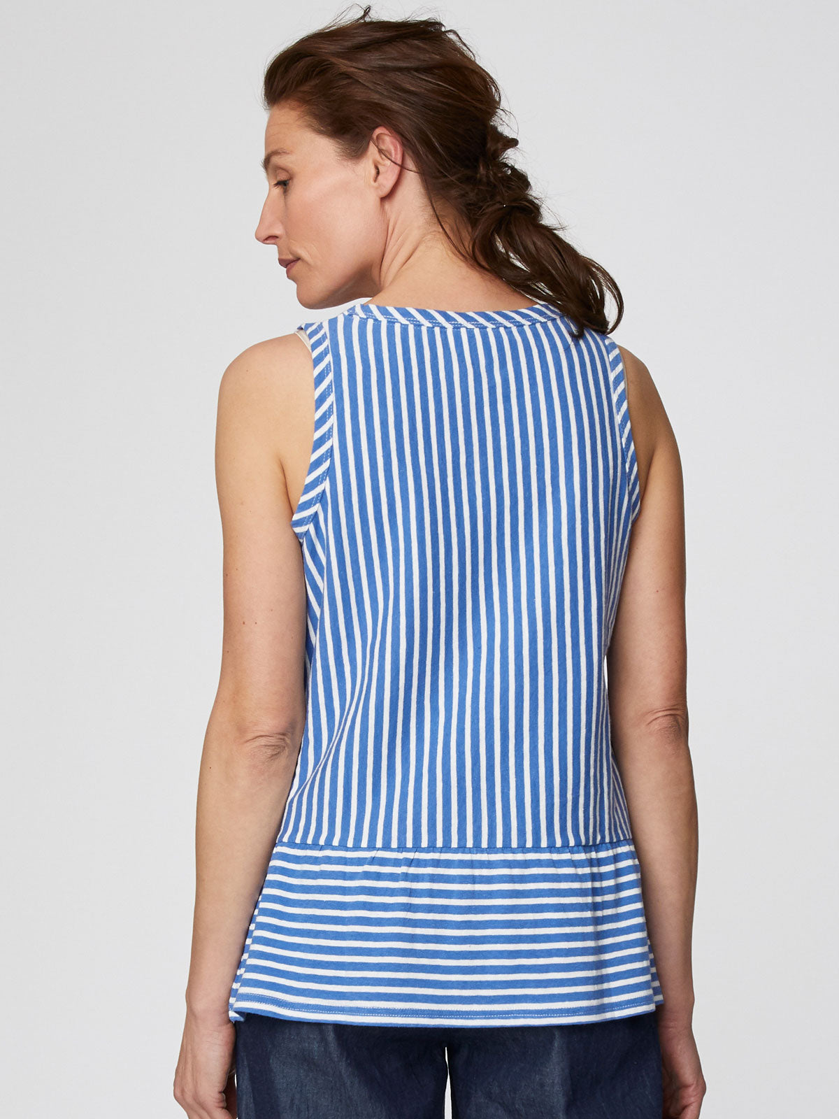 Thought Simonia Vest Top for Ladies in Marina Blue