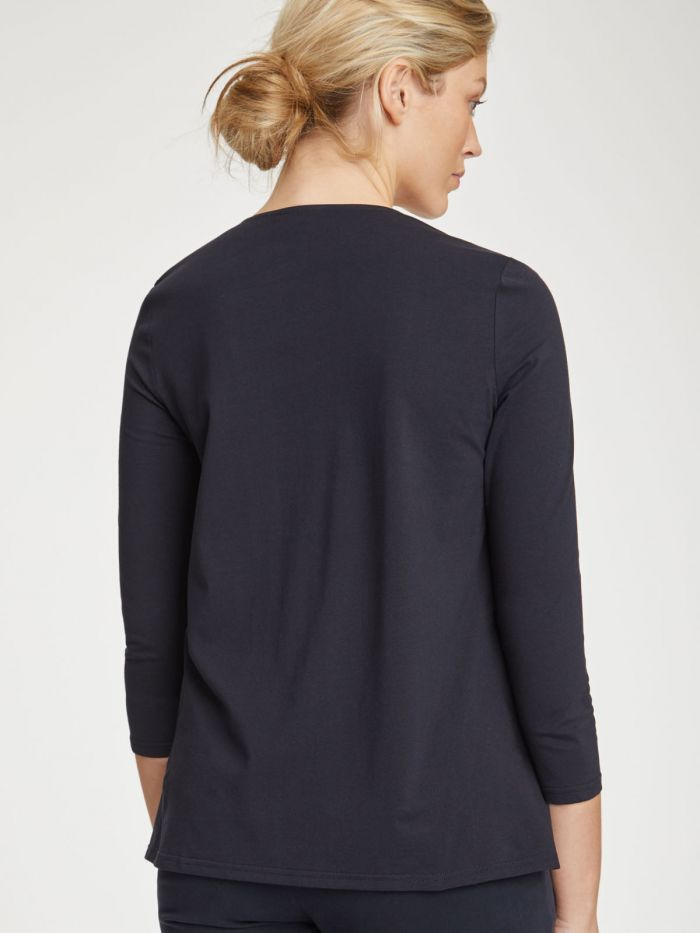 Thought Birgit Top for Ladies in Navy