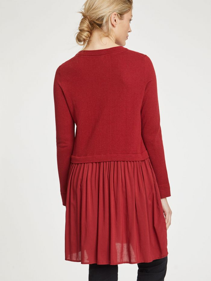 Thought Earnshaw Tunic for Ladies in Redcurrant