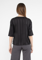 3/4 Sleeves Top with Side Belt