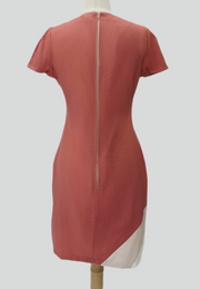 Tonal Panelled Dress